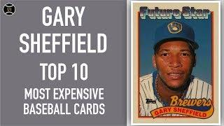 Gary Sheffield: Top 10 Most Expensive Baseball Cards Sold on Ebay (November - January 2020)