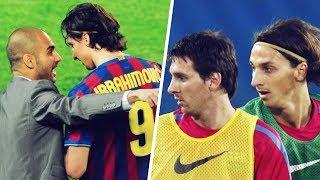 How Lionel Messi ruined Zlatan Ibrahimovic and Pep Guardiola's relationship | Oh My Goal