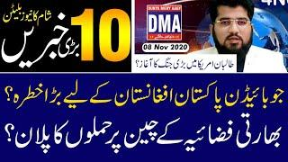 Top 10 with GNM    Today's Top Latest Updates by Ghulam Nabi Madni Evening    8 November 2020   
