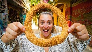 GREEK STREET FOOD IN ATHENS!! First Day in Greece - ULTIMATE Food Tour in Athens, Greece 2020!!