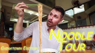 NOODLE Tour SAIGON: Rare Goat Noodles + Mì Vịt Tiềm + A WHOLE Street of Wonton Noodles!!