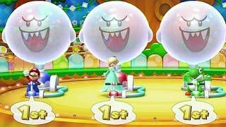 Mario Party 10 Minigames - Mario vs Rosalina vs Yoshi vs Toad (Master Cpu)