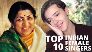 Top 10 Indian Female Singers | REACTION