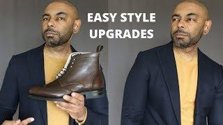 10 Easy Men's Style Upgrades