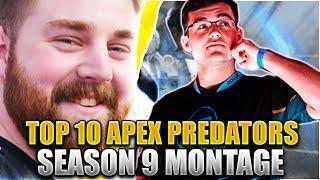 Top 10 RANKED Apex Predators in Season 9 Montage - Apex Legends Montage