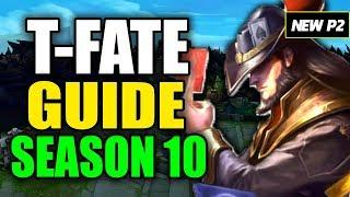 HOW TO PLAY TWISTED FATE SEASON 10 - (Best Build, Runes, Playstyle) S10 Twisted Fate Gameplay Guide