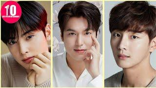 Top 10 Most Handsome Korean Actors as of  2021 - Who is number one ?