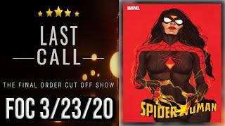 Top 10 Comic Books for Final Order Cut Off 3/23/20