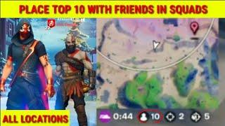 Place Top 10 with Friends in Squads (SNOW STEEL WRAP) | How to place top 10 with friends in squads