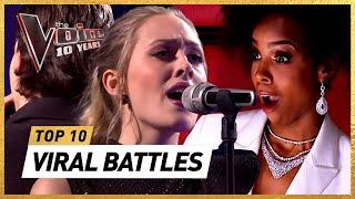 The MOST VIEWED BATTLES in 10 Years of The Voice