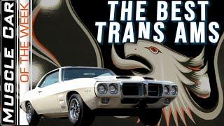 Top Pontiac Trans Ams - Muscle Car Of The Week Video Episode 346