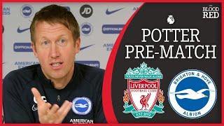 'Liverpool are a machine' | Graham Potter Press Conference | Liverpool v Brighton