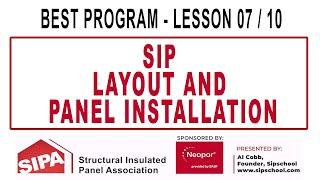 SIP Layout and Panel Installation - Lesson 7/10 - BEST Program