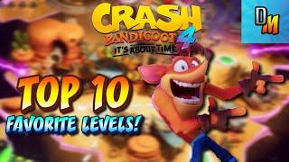 """""""Crash 4: It's About Time:"""" Top 10 Favorite Levels!"""