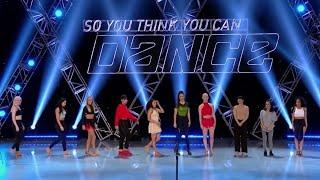 SYTYCD 16 - Top 10 Girls - The Top 5 Girls Are Chosen