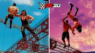 WWE 2K20 All Hell In A Cell OMG Moments!!