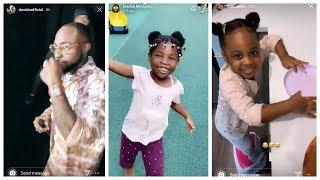 Davido Training All His Daughters To Sing To his Billionaire Father... ( See This )