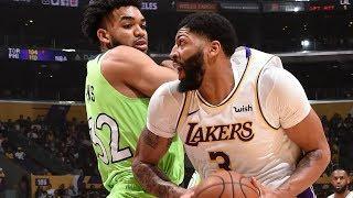 LeBron Poster! Anthony Davis 50 Points vs T-Wolves! 2019-20 NBA Season