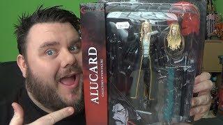Castlevania Alucard Netflix Series Diamond Select Action Figure Vampire Horror Toy Review