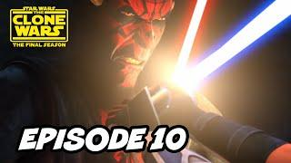 Star Wars The Clone Wars Season 7 Episode 10 - TOP 10 and Star Wars Easter Eggs