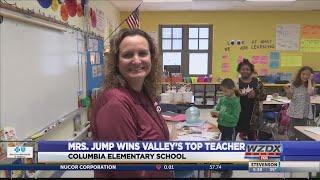 Mrs. Karen Jump Wins Valley's Top Teacher