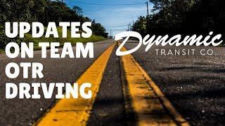 Dynamic Transit - Updates on Team OTR Driving Opportunities
