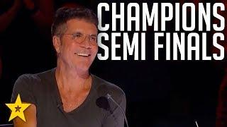 TOP Semi Final Performances on America's Got Talent: The Champions 2020