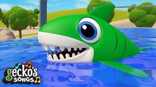 Baby Shark Song!   Best Baby Songs   Gecko's Garage   Nursery Rhymes & Kids Songs   Toddler Cartoon