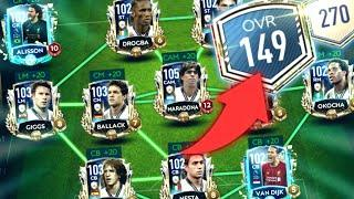 BEST TEAM IN FIFA MOBILE 20!! 150 OVR?! TOP 10 TEAMS IN FIFA MOBILE