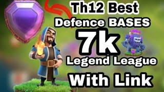 2020 *0 STAR SPECIAL* Top 10 Best TH13 Legend League & War Base - With BASE LINK! - Clash of Clans