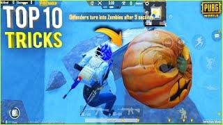 INFECTION MODE Top 10 Tricks  || New Infection Mode in Pubg