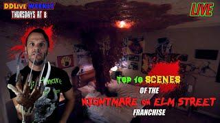 DDLive #30 TOP 10 Scenes from the NIGHTMARE on ELM STREET Franchise