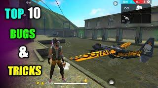 Top 10 New Latest Bugs/Glitches And Tricks In Free Fire | New Tricks In Free Fire
