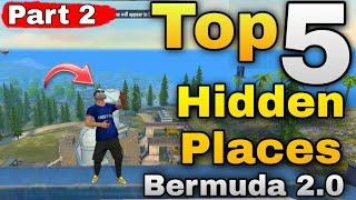 TOP 5 HIDDEN PLACES  BERMUDA 2.0  || NEW HIDDEN PLACE AFTER UPDATE BY ONE DAY GAMING || PART 2