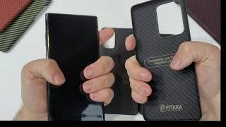 Galaxy S20 Ultra Galaxy S20+ Galaxy S20 Pitaka Case Hands-On Overview