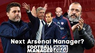 Next Arsenal Manager? - Football Manager 2020 Experiment - FM20