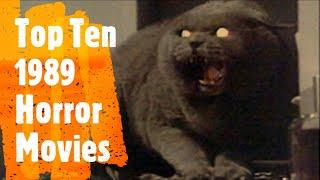 Top 10 HORROR Movies of 1989 at the Box Office