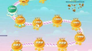 Candy crush  level 400 V 1000 Level Gemes || Candy erush saga game 2020