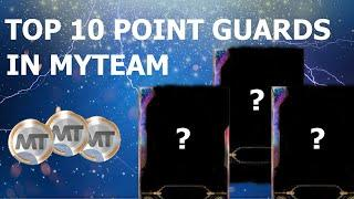 TOP 10 POINT GUARDS IN MYTEAM NBA 2K20 | BEST CARDS IN MYTEAM!