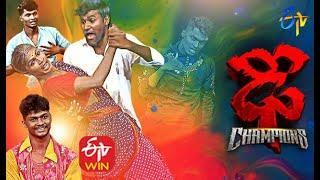 Somesh Top 10 Performances   Dhee Champions   ETV Telugu