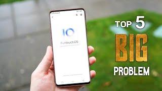 Vivo Funtouch OS 10 Top 5 Major Problem || Android 10 Update Problem On Vivo Phone || Vivo 10 Update