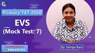 Mock Test 7 | EVS | MCQ (Top 10 Questions) - WB Primary TET 2020 | Master Of Jobs