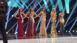 Miss universe 2019 TOP 3 Announcement (AUDIENCE VIEW)
