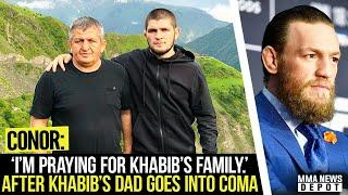 Conor reacts to news about Khabib's father; Dana releases statement on Khabib's dad; Tony on Conor