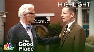 Michael and Shawn Come to an Agreement - The Good Place