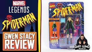 Marvel Legends Gwen Stacy  Spider-Man Vintage Retro Review