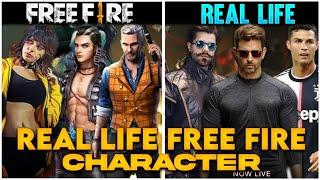 Free Fire Characters In Real Life 2021|| TOP 10 FREE FIRE CHARACTER IN REAL LIFE || #GAMINGWITHPATEL