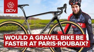 Gravel Bike VS Road Bike | Which Is Fastest On The Cobbles Of Paris Roubaix