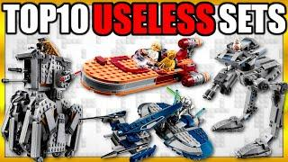 Top 10 Most USELESS LEGO Star Wars Sets EVER MADE