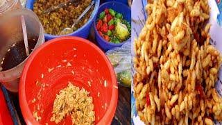 Street Food Bangladeshi Top Popular Jhal Muri Recipe | Kolkata Tasty Food Masala Muri Asmr